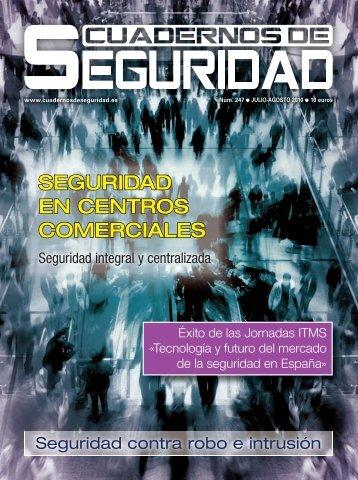 SEGURIDAD EN CENTROS COMERCIALES - Peldaño