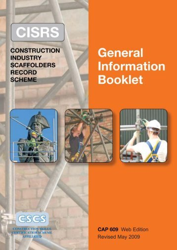 Web Edition Revised May 2009 - NASC