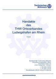 Handakte des THW Ortsverbandes Ludwigshafen am Rhein