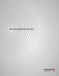 Q1-Bericht 2012 - Funkwerk AG