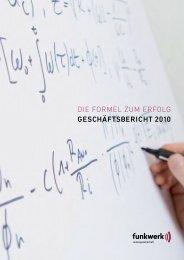 Geschäftsbericht 2010 (3.8 MB) - Funkwerk AG