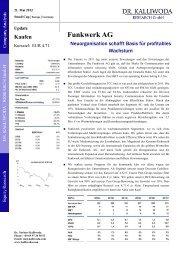 Dr. Kalliwode Research (21.05.2012) (1.1 MB) - Funkwerk AG