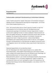 Pressemitteilung - Funkwerk plettac modernisiert ...
