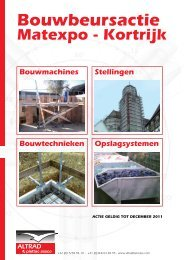 Bekijk nu de folder van ons nieuw assortiment - Altrad Benelux