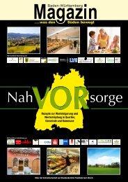 Baden-Württemberg Magazin Nahvorsorge - Perlen der Wirtschaft