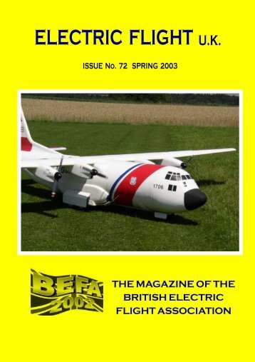 ELECTRIC FLIGHT U.K. - British Electric Flight Association