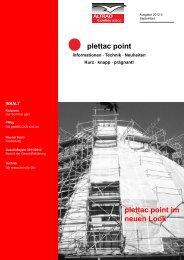 plettac point Ausgabe 09/2012 - ALTRAD plettac assco