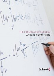 Annual Report 2010 (5.1 MB) - Funkwerk AG
