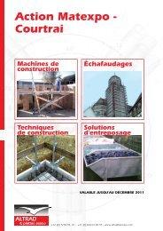 Nouvelle gamme: LA SECURITE EN HAUTEUR - Altrad Benelux