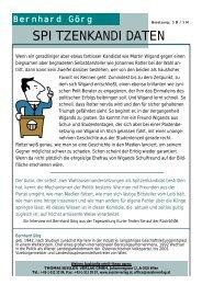 DIE ANNONCE von Bernhard Görg - THOMAS SESSLER - Verlag