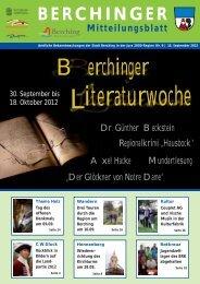 September 2012 - Berching