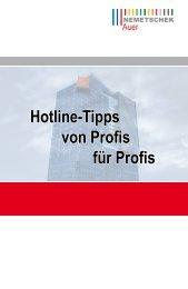 Hotline-Tipps von Profis für Profis - AUER - Die Bausoftware GmbH