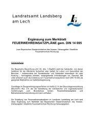 Landratsamt Landsberg am Lech - Feuerwehr Landsberg e. V.