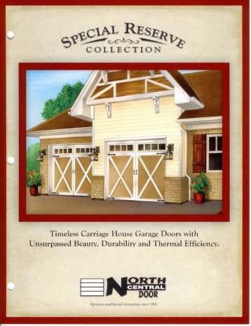 Special Reserve Collection - American Door & Supply Co.