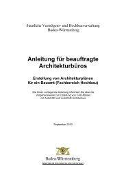 Anleitung Architektur - Baden-Württemberg