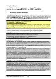 Abstandhalter nach DIN 1045 und DBV-Merkblatt - Deutscher Beton ...