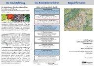 Bebauungsplan 1147 - Flyer - Stadt Wuppertal