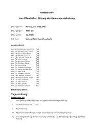 Protokoll von 2008-02-11 (77 KB) - .PDF - Mattsee