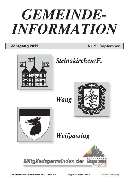 Steinakirchen am forst frauen suchen mann Brnbach bekanntschaft