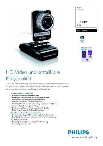 SPC1300NC/00 Philips Webcam