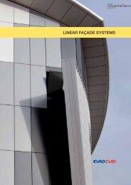 Linear façade systems - EuroClad