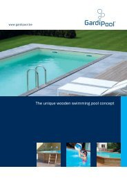 The unique wooden swimming pool concept - PoolStore UK Ltd.