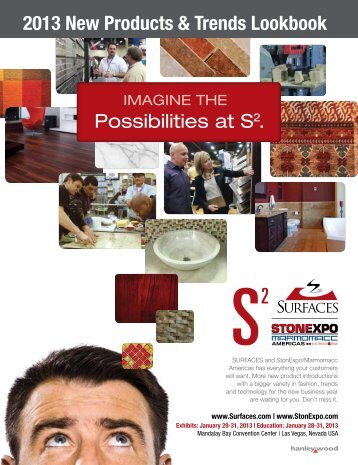 2013 New Products & Trends Lookbook - Surfaces