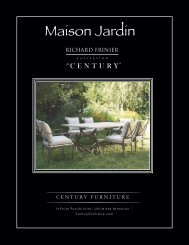 Design Elements - Century Furniture