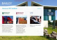 Bailey - Excellence in Flat Roofing - Barbour Product Search