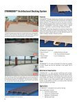 FIBERGLASS DECKING SYSTEMS - Strongwell - Page 6