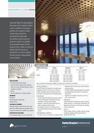 luxalon® metal tile ceiling systems - Hunter Douglas Commercial