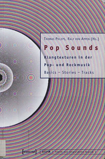 Pop Sounds : Klangtexturen in der Pop- und Rockmusik. Basics ...
