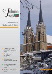 Aktuell - Stadtgemeinde St. Johann