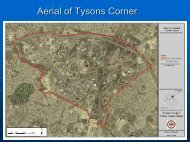Aerial of Tysons Corner - Fairfax County Government