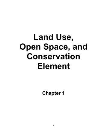 Kern County General Plan - Chapter 1, Land Use - County of Kern