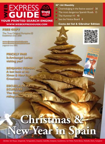 Christmas & New Year in Spain - Web Express Guide Magazine
