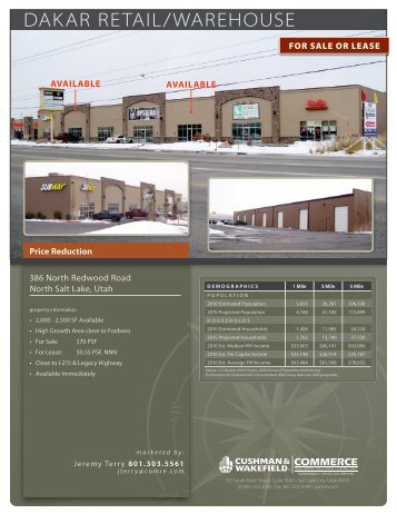 View Brochure - Commerce Real Estate Solutions