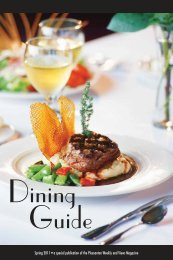 Dining Guide - San Ramon Express