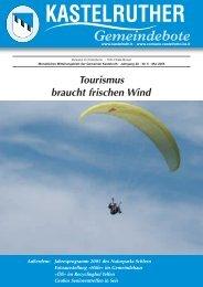 Kastelruth Gemeindebote Mai 2005 - Teil 1