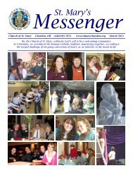 Messenger - St. Mary Chardon