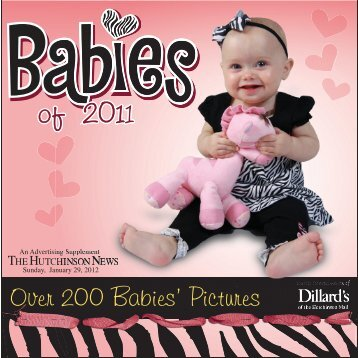 Babies Of 2011   The Hutchinson News