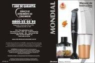 Manual MULTI MIXER PREMIUM M-04 07-12 Rev03 - Mondial