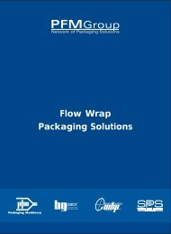Flow Wrap Packaging Solutions