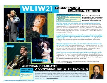 The Sound of Summer melodieS AmericAn GrAduATe: A ... - WNET