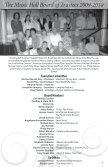 annual report - The Music Hall - Page 5
