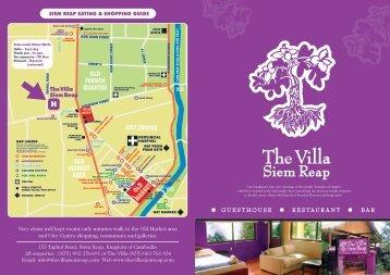Facilities at The Villa - The Villa Siem Reap