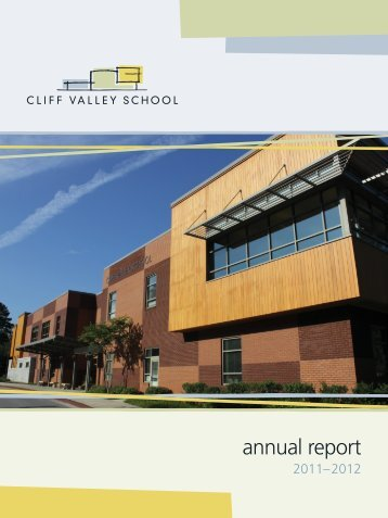 Download the report. - Cliff Valley School