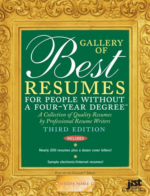 Gallery of Best Resumes pdf - NFIinnovation org