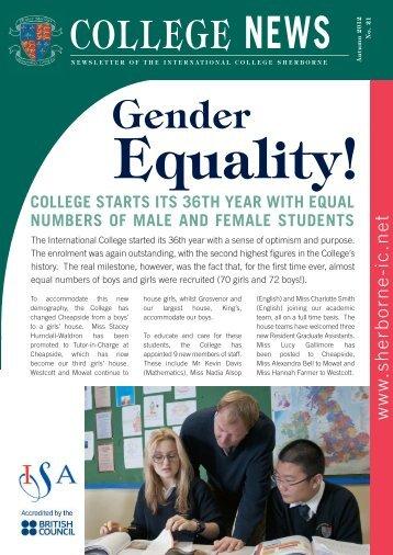Newsletter - International College