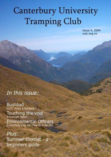 PDF (1.9MB) - Canterbury University Tramping Club